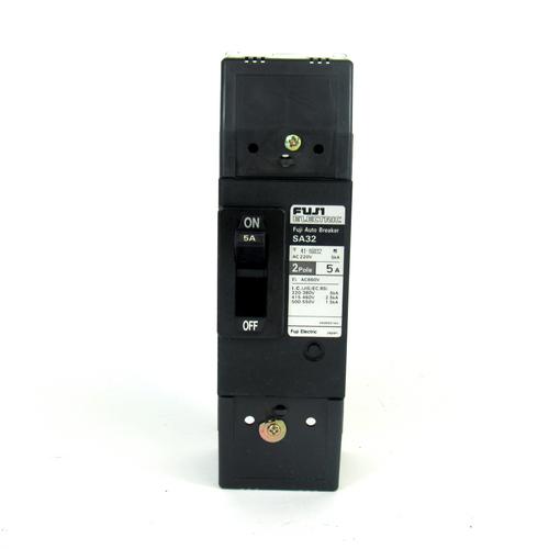Fuji Electric SA32 Auto Circuit Breaker, 5 Amp, 2-Pole