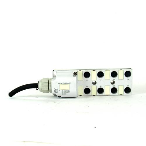 Mencom Corp. JDC-840-011-CXXX Junction Block, 8-Port, 5-Pin