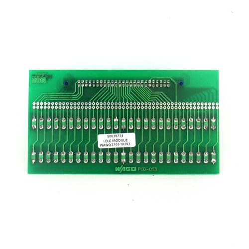 Wago PCB-053 Circuit Relay PCB, 50-Pin