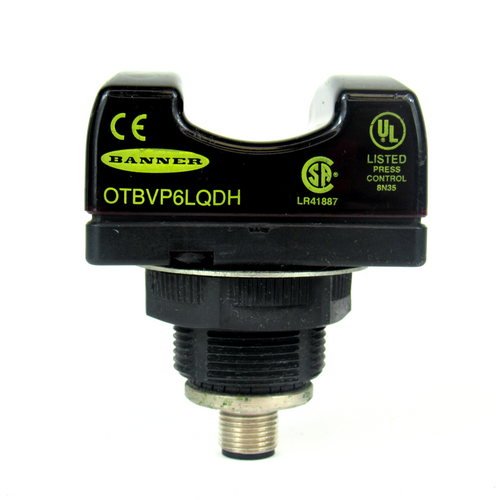 Banner Engineering OTBVP6LQDH Momentary Optical Touch Button, 10-30V DC
