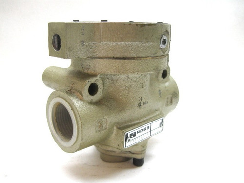 Ross 2781A6017 Eez On Normally Closed Valve Air Piloted 1 Inch 2 Way New