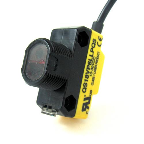 Banner QS18VP6LLPQ5 Photoelectric Sensor, 10-30V DC