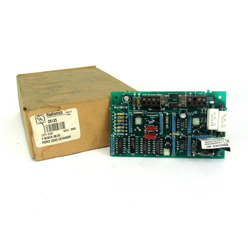 Radionics Inc. D8125 POPEX Signal System Control Unit