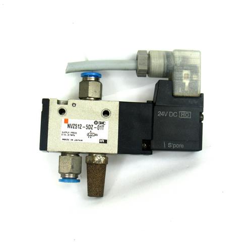 SMC NVZ512-5DZ-01T Solenoid Valve, 0.15~0.7MPa