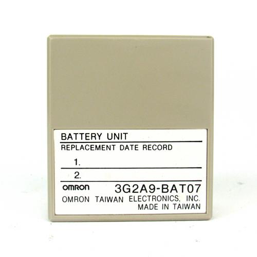 Omron 3G2A9-BAT07 Battery Unit, NEW