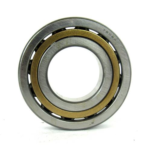 NSK Bearings 7206A Single Row Angular Contact Ball Bearing, 30mm Bore Diameter
