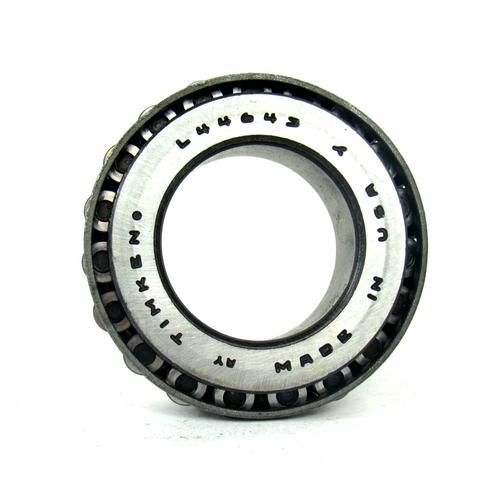 Timken L44643 Tapered Roller Bearing Cone, 25.400mm Bore Diameter