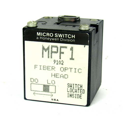 Honeywell Micro Switch MPF1 Fiber Optic Head, Switch Inside