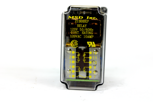 MSD Inc. 219BBXP Relay, 120V AC