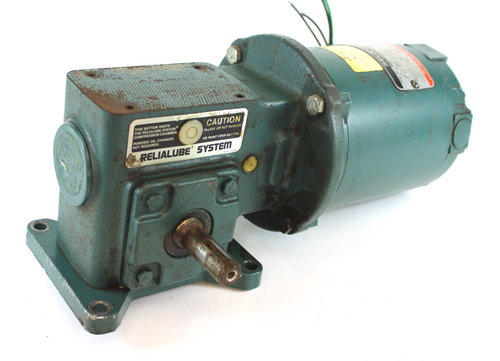 Reliance Electric P56H3002M Motor, 1/3HP, 1725RPM, 208/460V, EA56C