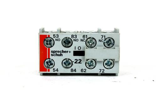 Sprecher + Schuh CS4-P Control Relay, 500V