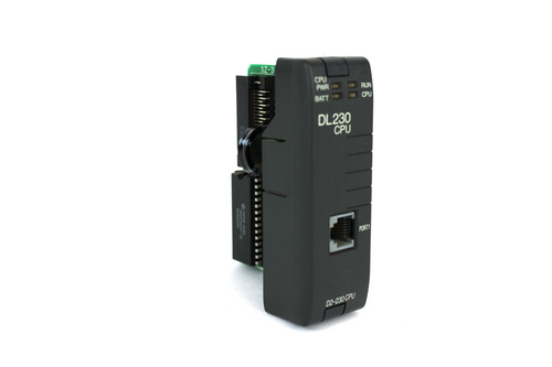 Automation Direct D2-230 CPU Module, Direct Logic 205, 2.4K Memory