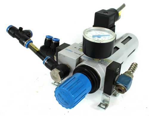 Festo LFR-D-MINI-A/FRZ-D-MINI/PEV-1/4-B Pressure Regulator w/ Switch