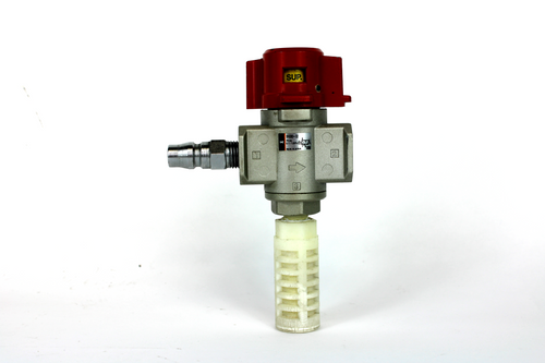 SMC VHS30-02 Pneumatic Lock Out Hand Valve, 0.1~1.0 MPa