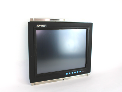"""Advantech FPM-2150G-RCE 15"""" LCD Industrial Monitor w/ Resistive Touch Screen"""