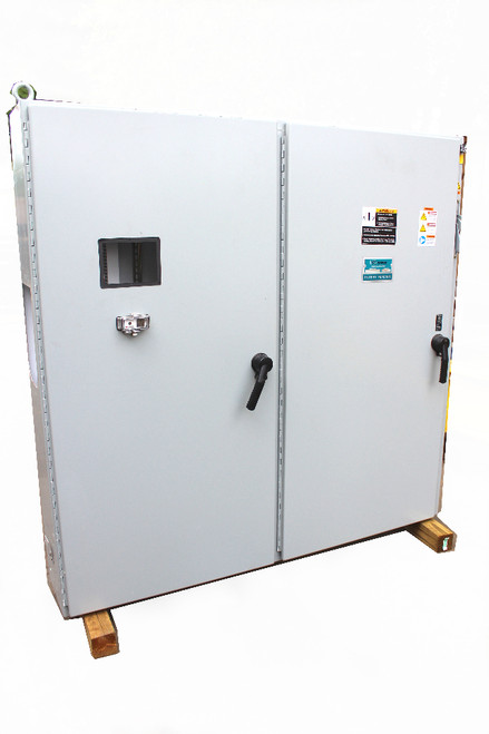 "Hoffman A72X7312LPFTC Free Standing Electrical Enclosure 72"" T x 74"" L x 12"" D"
