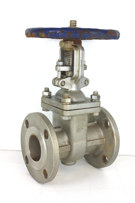 """Sharpe 2"""" Stainless Steel Flanged 150 Gate Valve 316SS Series 35116"""