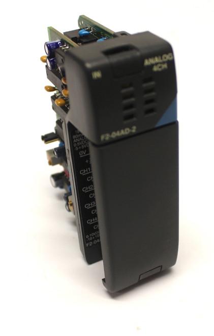 Automation Direct F2-04AD-2 Analog Input Module 4Point 12Bit 12Vdc