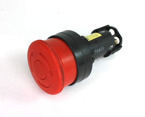 Idec HW1E-LV Red Pushbutton Switch Emergency Stop