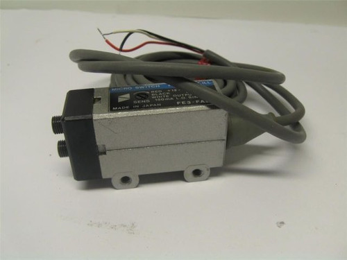 Honeywell FES-FA6-M Fiber Optic Photo Electric Control New