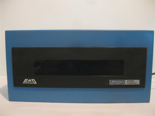 Uticor Technology PMD200 Series Programmable Message Display