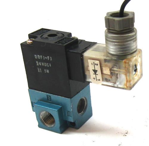 MAC 35A-AAA-DDFJ-1KE Solenoid Valve 24VDC,12.7W, 120 PSI
