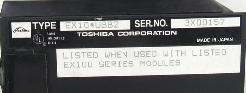 Toshiba EX10 UBB2  Module Rack