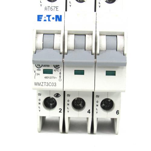 Eaton WMZT3C03 Circuit Breaker 3 Amp, 415 Volt