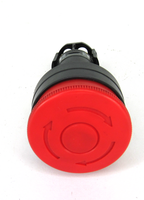 Idec HW1E-BV Red Pushbutton Switch Emergency Stop