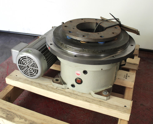 Sankyo Sandex 15AD Alpha Indexing Drive 4 Station w/ Torque Limiter 0.75Kw Camco