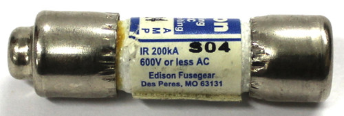 Edison Fast Acting HCLR4 Fuse 4 Amp, 600 Vac, Class CC