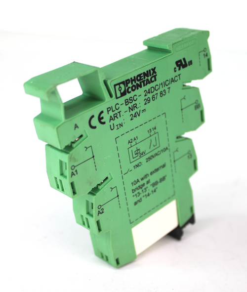 Phoenix Contact PLC-BSC-24DC/1IC/ACT Solid State Relay, 24V, 250Vac, 6A, 2967837