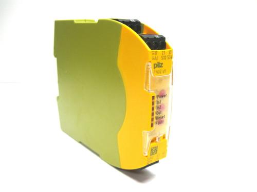 Pilz PN0Z S9 24VDC 3N/O 1N/C T Safety Relay 24 Vdc 750109