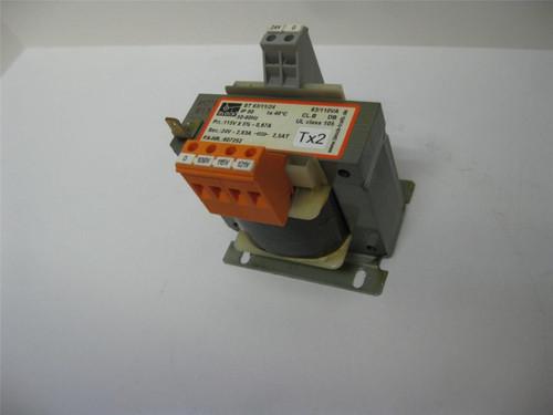 Block ST 63/11/24 IP 00 Transformer 50/60Hz 63/110VA