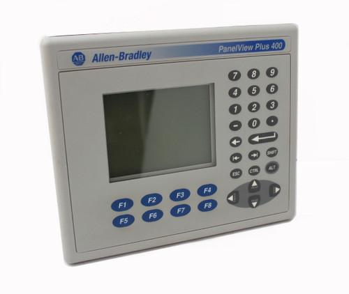 Allen Bradley 2711P-K4M5D Panelview Plus 400, Series B, 24V, Ethernet, Keypad
