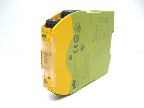 Pilz 750167 PN0Z S7.1 24VDC 3N/O Safety Relay 24 Vdc, 230 Vac