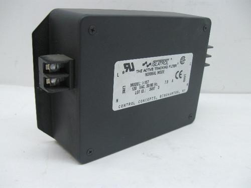 Control Concepts Islatrol I-107 Active Tracking Sine Wave Filter 120V 7.5 Amp