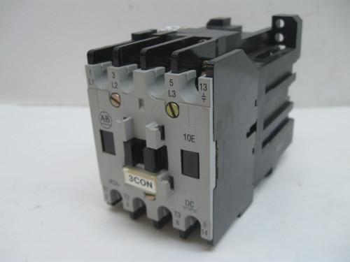 Allen Bradley 100-A24NZ 3 Series B Contactor 24VDC