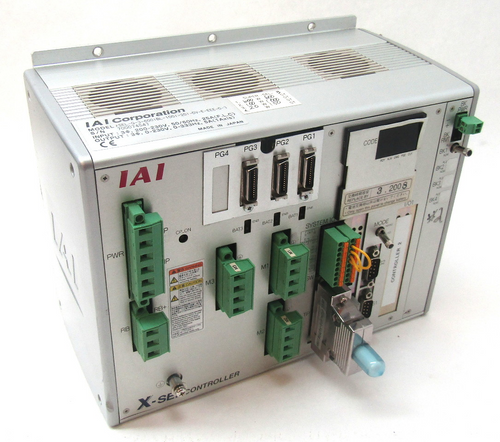 IAI Corporation XSEL-Q-3-600IBL-100I-20I-DV-E-EEE-0-3 Servo Controller 3 Axis
