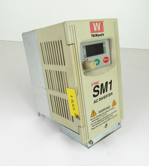 TB Wood's, SM1C2S010B, E-TRAC, SM1, AC, Inverter, 1Hp, 3Phase, 50/60Hz