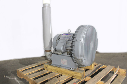 Spencer 10Hp Vortex Regenerative Blower 495 CFM 208-460Vac VB-075B-000