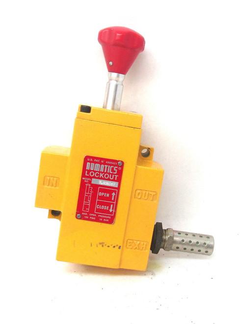 Numatics Air Lockout VL40N06Y 150Psi