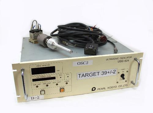 Pearl 40Khz Ultrasonic Welder USG-624, HerFurth UST-640 Transducer 600W