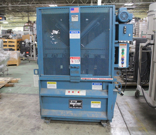 """Marathon V-4224-02 Vertical Cardboard Baler 1.5Hp 120-230Vac 42"""" Wide Bale"""