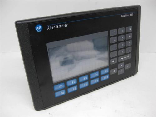 Allen Bradley 2711-B5A5 Ser. F Panelview 550 Rev. D FRN 3.13