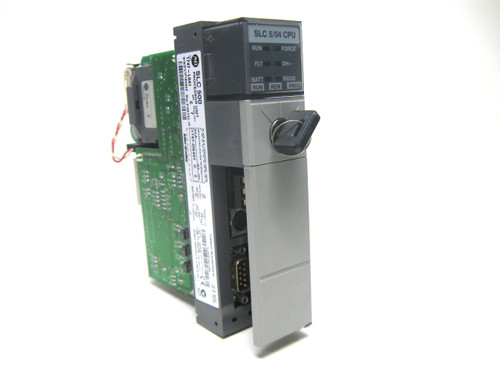 Allen Bradley 1747-L541 /C Rev. 7 SLC 500 5/04 CPU Processor Unit
