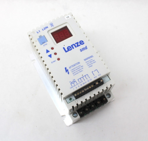 Lenze ESMD551X2SFA Inverter SMD Drive 0.55Kw Single Phase to 3 Phase