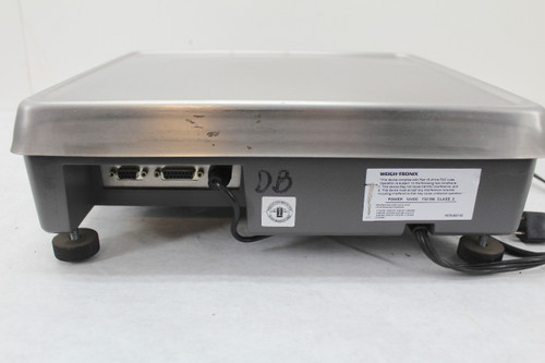 Weigh-Tronix PC-820 Counting Scale 50 Lb Max Weight 115Vac