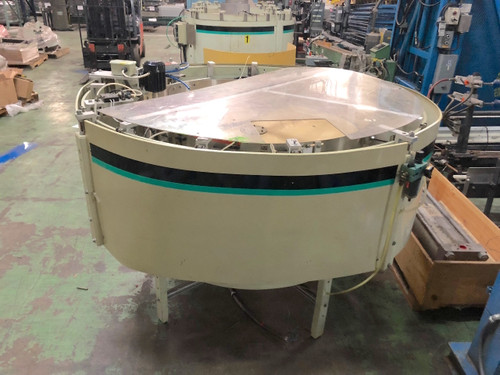 "Hoppmann FT/50  Centrifugal Feeder 70"" Diameter Bowl 1/2Hp Cap Sorter"