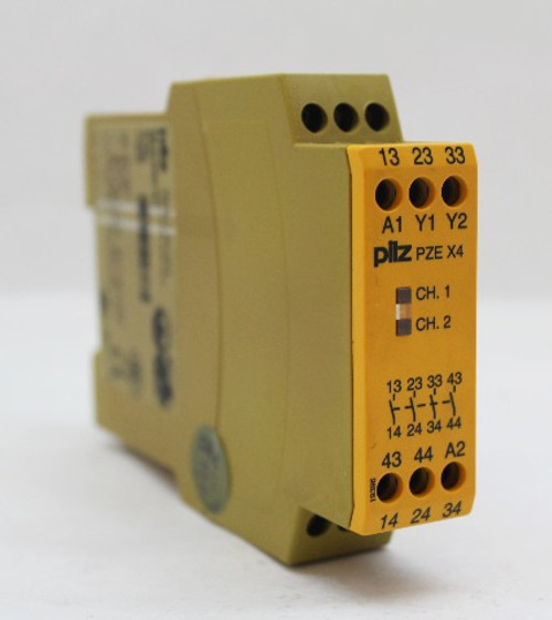 Pilz PZE X4 Safety Relay 24VDC